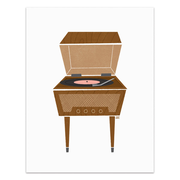 Record Player - Standalone Art Print