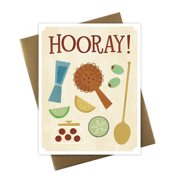 Hooray! Bar Tools Card