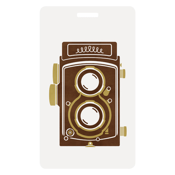 TLR Camera Luggage Tag 1196