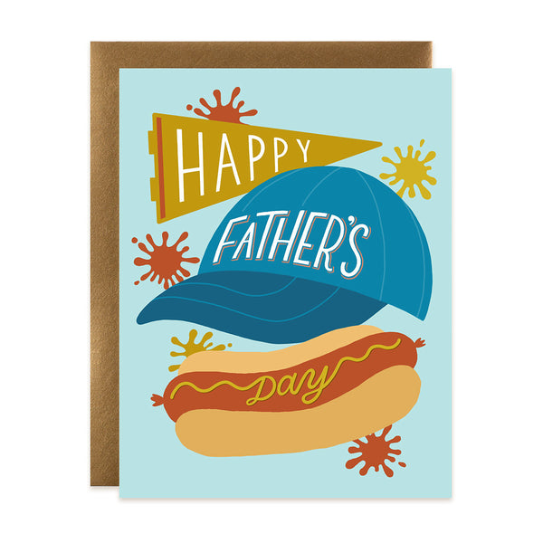 Happy Father's Day - Sports Dog Card