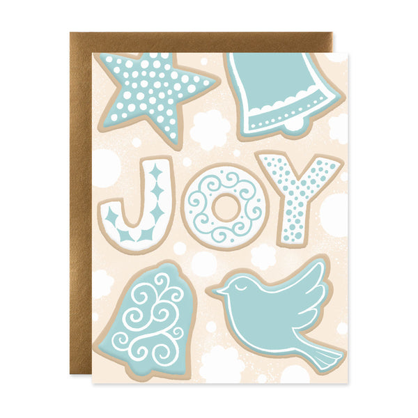Joy - Holiday Cookies Card