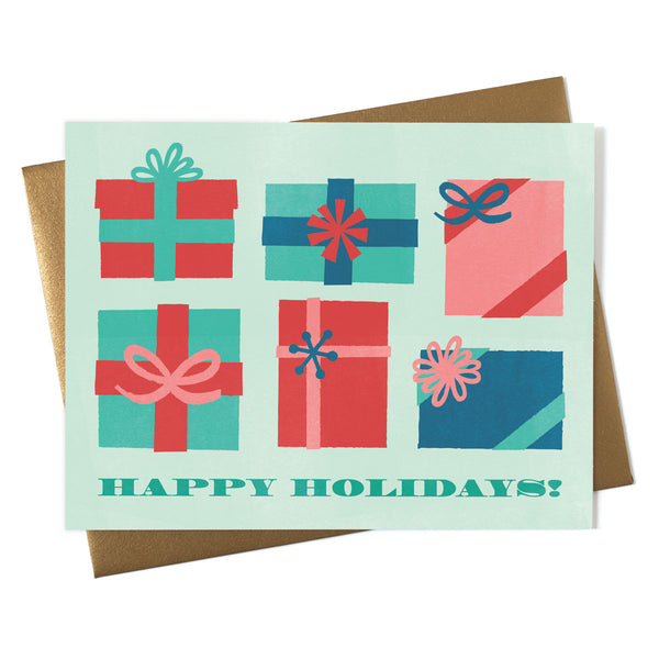 Happy Holiday Gifts Card