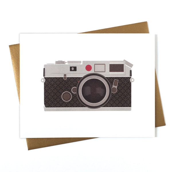 Camera Rings RF Greeting Card