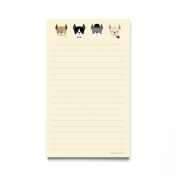 Frenchie Notepad