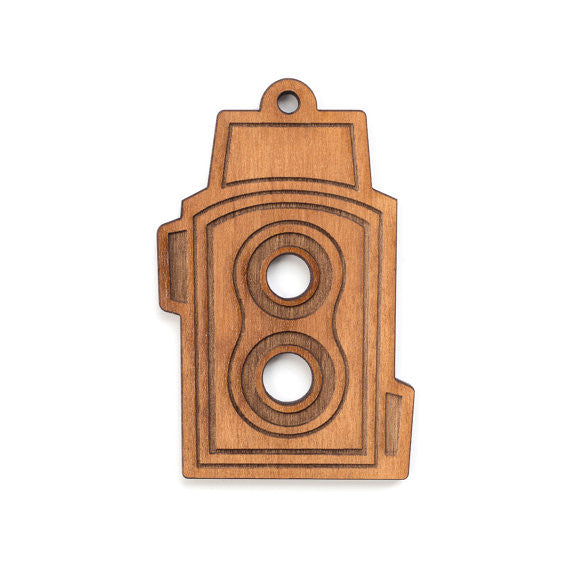TLR Camera Single Ornament