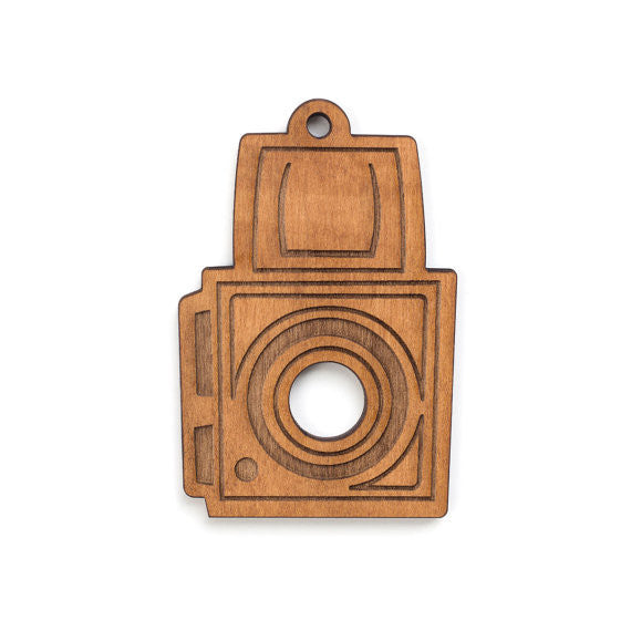 Medium Format Film Camera Single Ornament