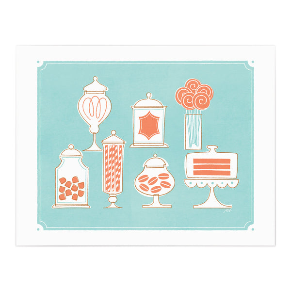 Sweetest Buffet Art Giclee Print