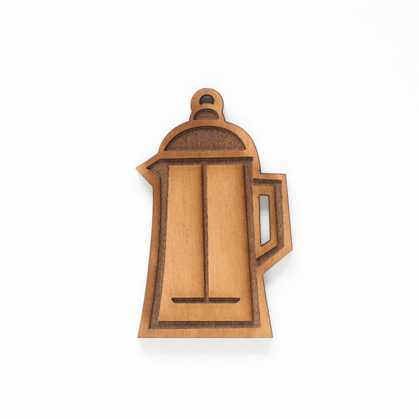 French Press Cup Single Ornament