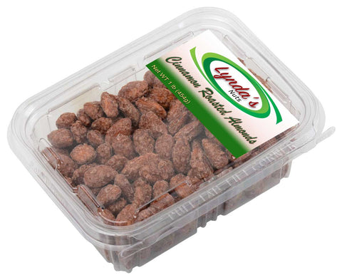 Roasted Cinnamon Almonds, 1 LB of our Craft Show Brand