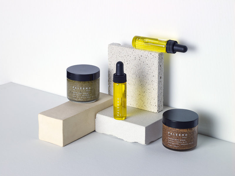 Body Oil & Body Scrubs Gift Set