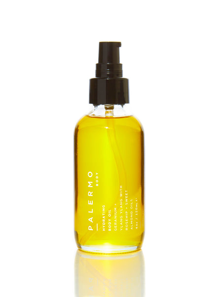 Hydrating Body Oil - Geranium + Ylang Ylang