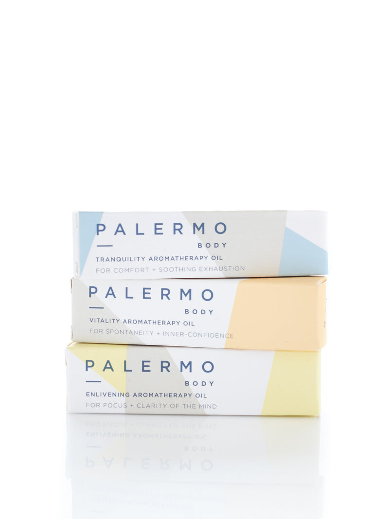 Enlivening Aromatherapy Oil palermo body