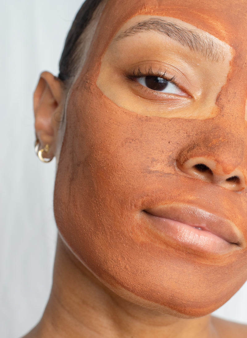 Vitamin C Facial Mask - Pink Clay + Rosehip