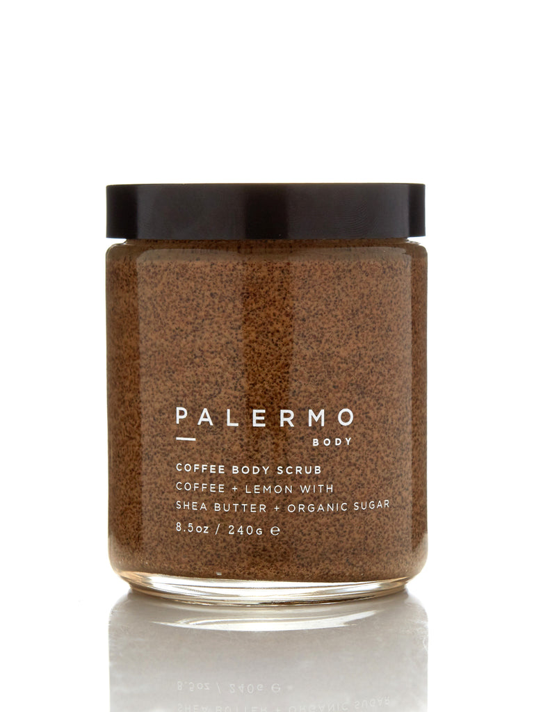 Coffee Body Scrub - Coffee + Lemon by Palermo Body
