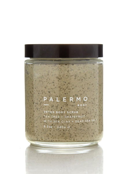 Detox Body Scrub - Tea Tree + Grapefruit by Palermo Body