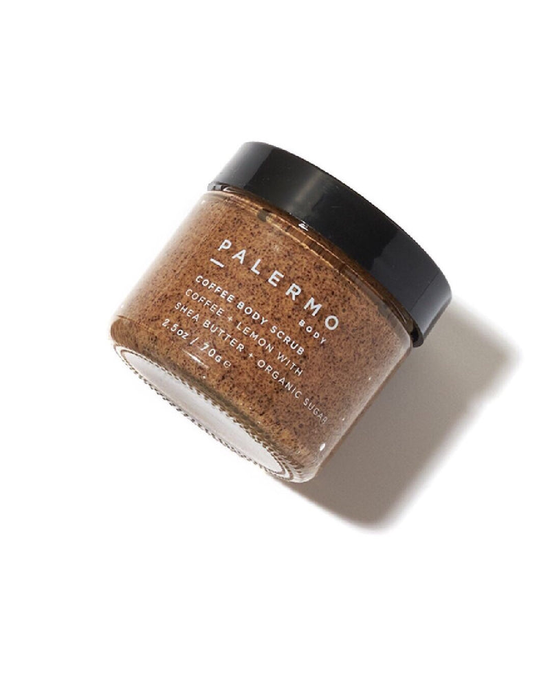 palermo body coffee scrub