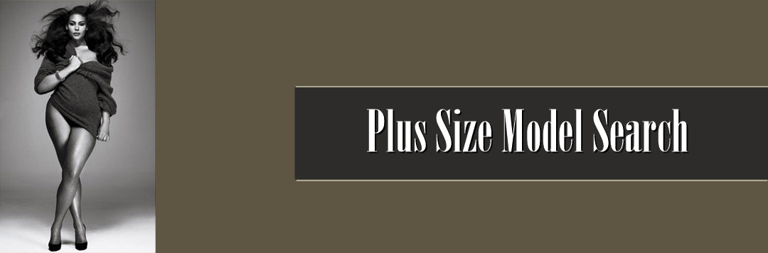 plus size model search