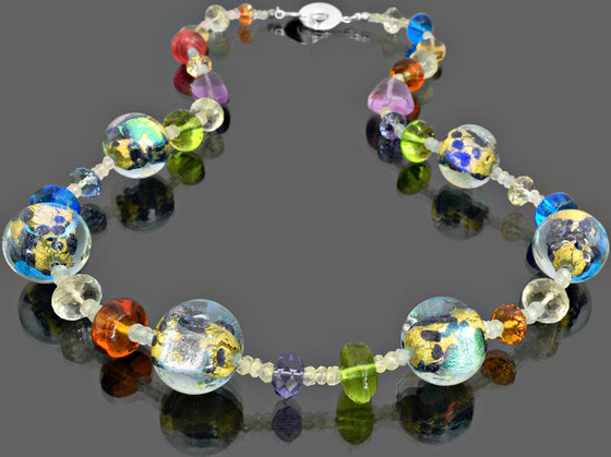 Gemma Collection - Artisan Beaded Necklace 14 - Kollekcio  - 1