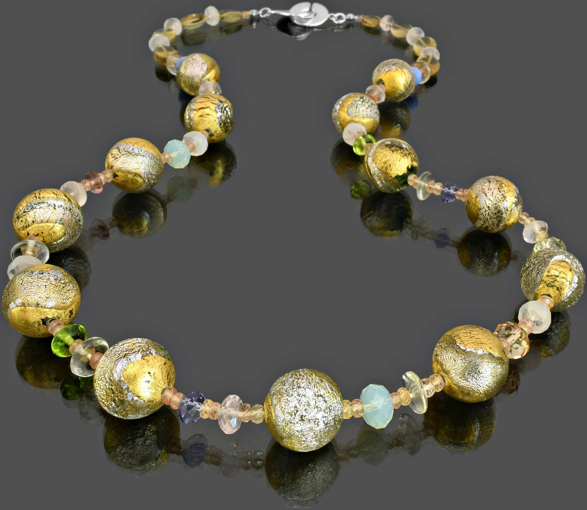 Gemma Collection - Artisan Beaded Necklace 24 - Kollekcio  - 1