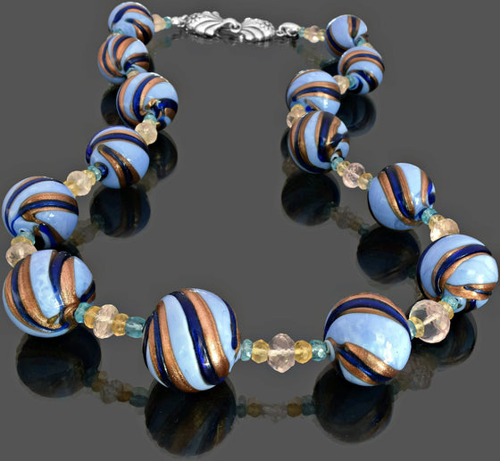 Gemma Collection - Artisan Beaded Necklace 4 - Kollekcio  - 1