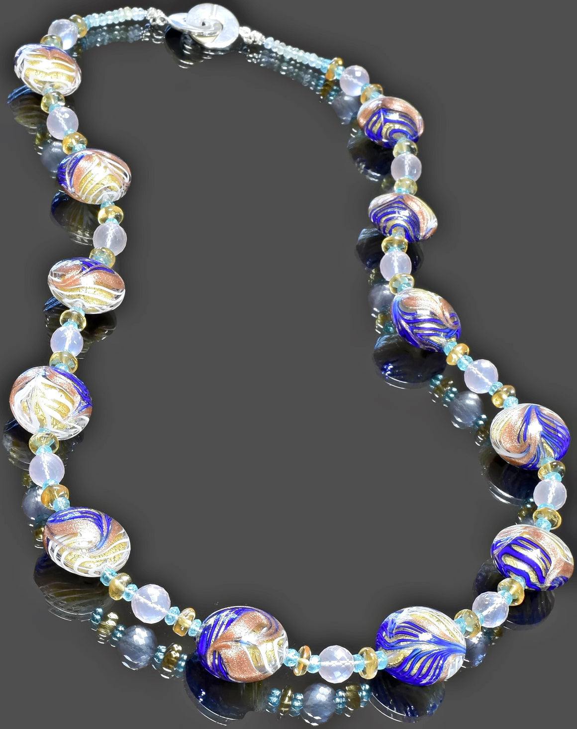 Gemma Collection - Artisan Beaded Necklace 6 - Kollekcio  - 1