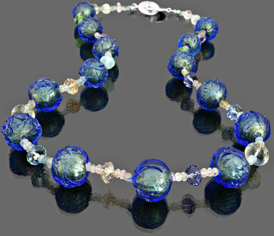 Gemma Collection - Artisan Beaded Necklace 18 - Kollekcio  - 1