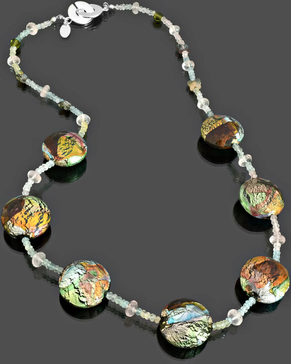 Gemma Collection - Artisan Beaded Necklace 45 - Kollekcio  - 1