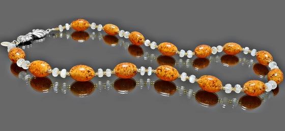 Gemma Collection - Artisan Beaded Necklace 8 - Kollekcio  - 1