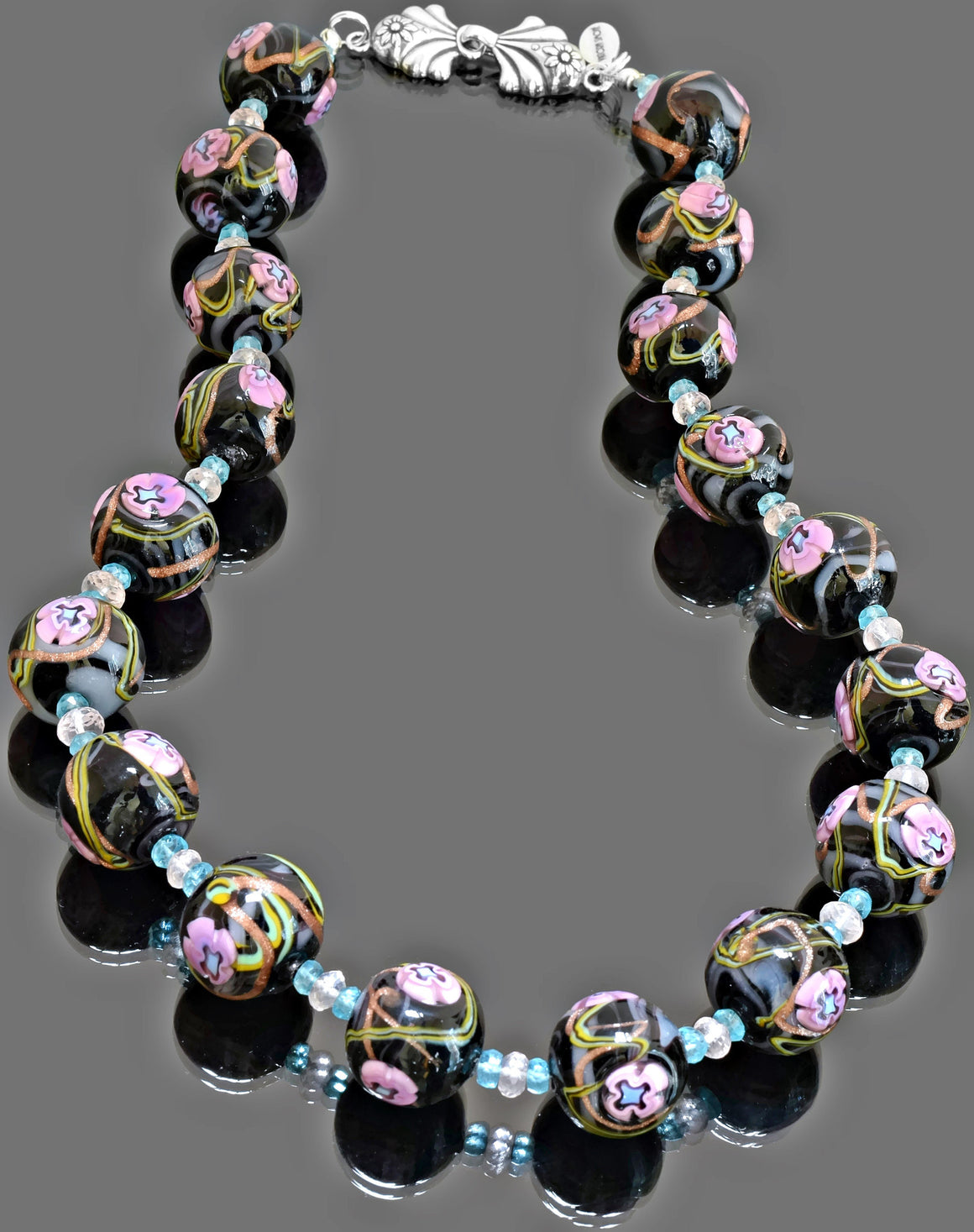 Gemma Collection - Artisan Beaded Necklace 21 - Kollekcio  - 1