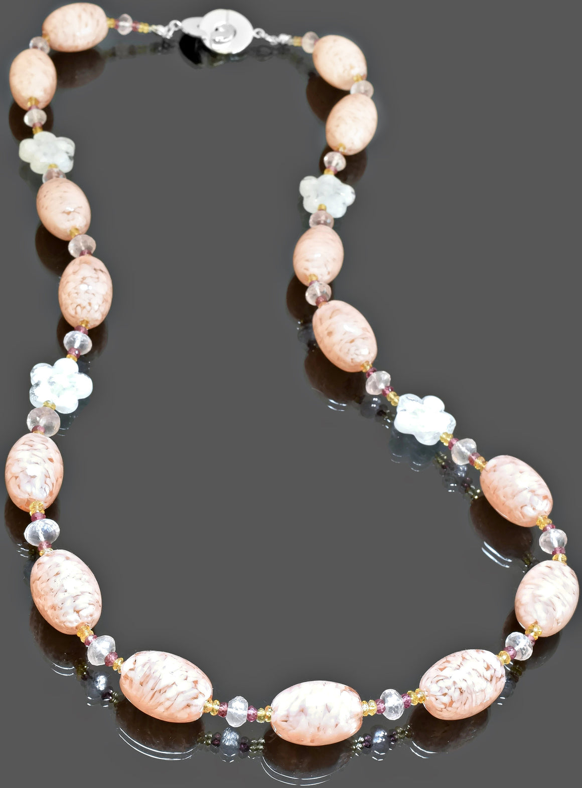 Gemma Collection - Artisan Beaded Necklace 20 - Kollekcio  - 1