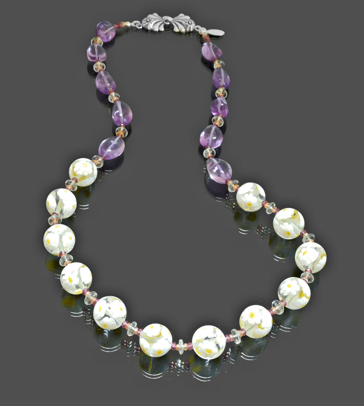 Gemma Collection - Artisan Beaded Necklace 36 - Kollekcio  - 1
