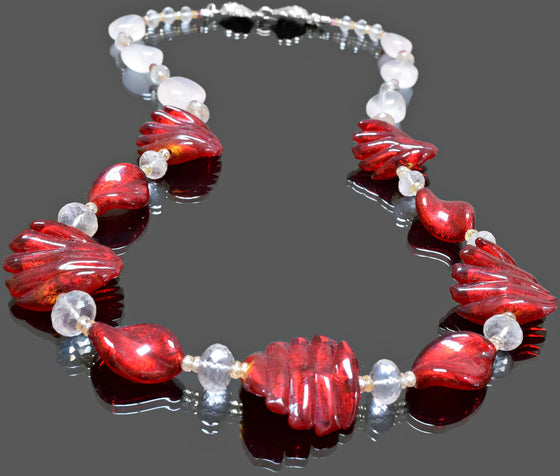 Gemma Collection - Artisan Beaded Necklace 5 - Kollekcio  - 1