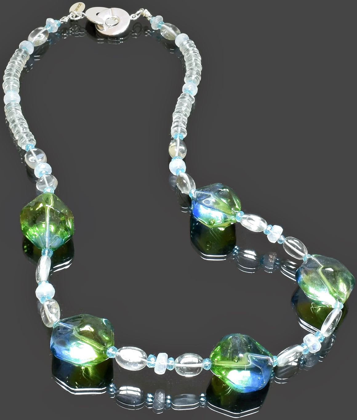 Gemma Collection - Artisan Beaded Necklace 23 - Kollekcio  - 1