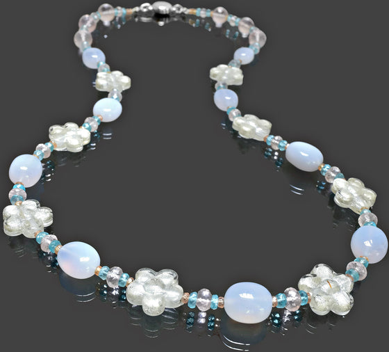 Gemma Collection - Artisan Beaded Necklace 29 - Kollekcio  - 1