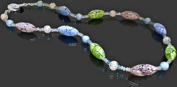 Gemma Collection - Artisan Beaded Necklace 30 - Kollekcio  - 1