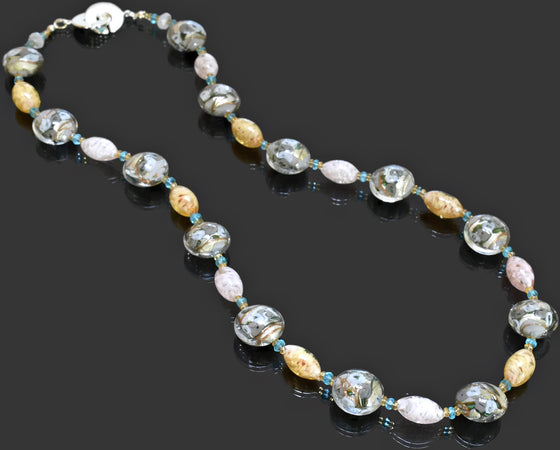 Gemma Collection - Artisan Beaded Necklace 32 - Kollekcio  - 1