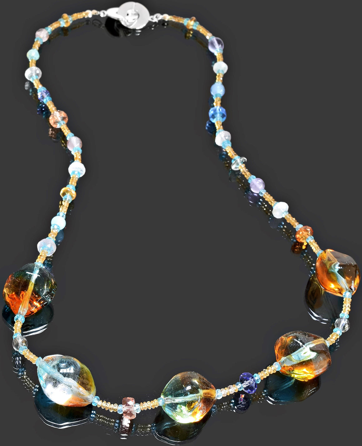 Gemma Collection - Artisan Beaded Necklace 31 - Kollekcio  - 1