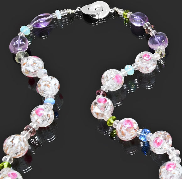 Gemma Collection - Artisan Beaded Necklace 33 - Kollekcio  - 1