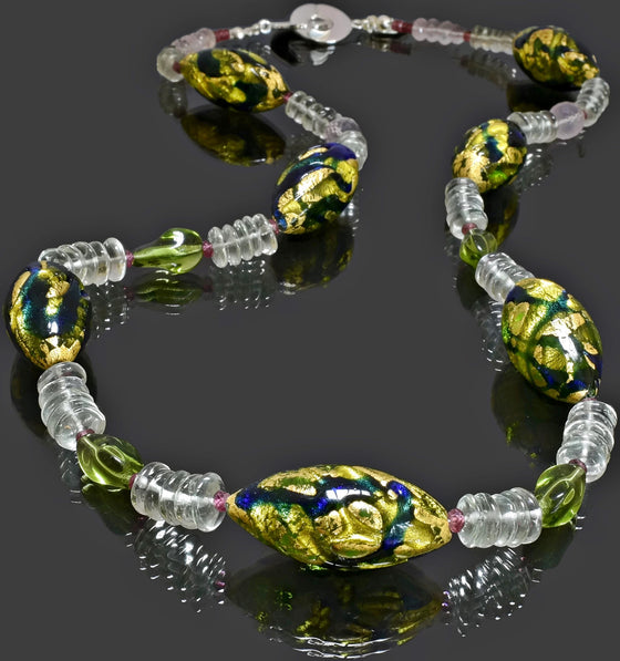 Gemma Collection - Artisan Beaded Necklace 26 - Kollekcio  - 1