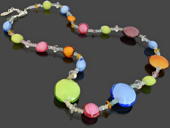 Gemma Collection - Artisan Beaded Necklace 15 - Kollekcio  - 1