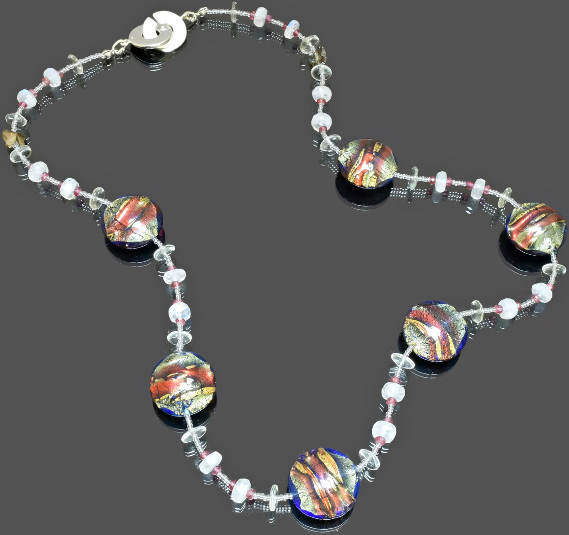 Gemma Collection - Artisan Beaded Necklace 38 - Kollekcio  - 1