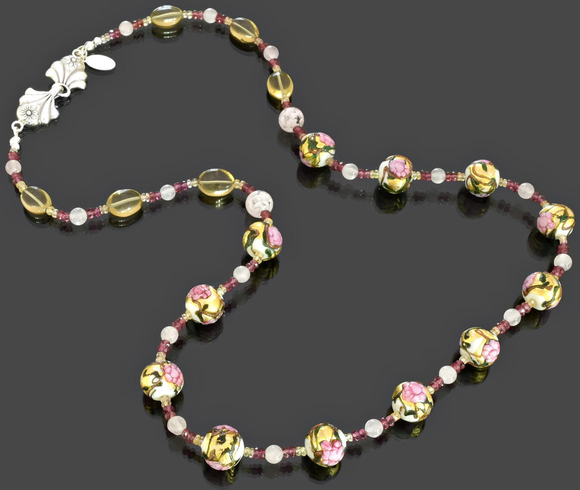 Gemma Collection - Artisan Beaded Necklace 39 - Kollekcio  - 1