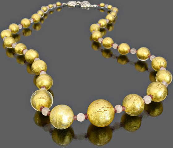 Gemma Collection - Artisan Beaded Necklace 42 - Kollekcio  - 1