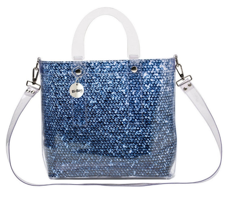 Large Bag BLUE DIAMOND - Kollekcio