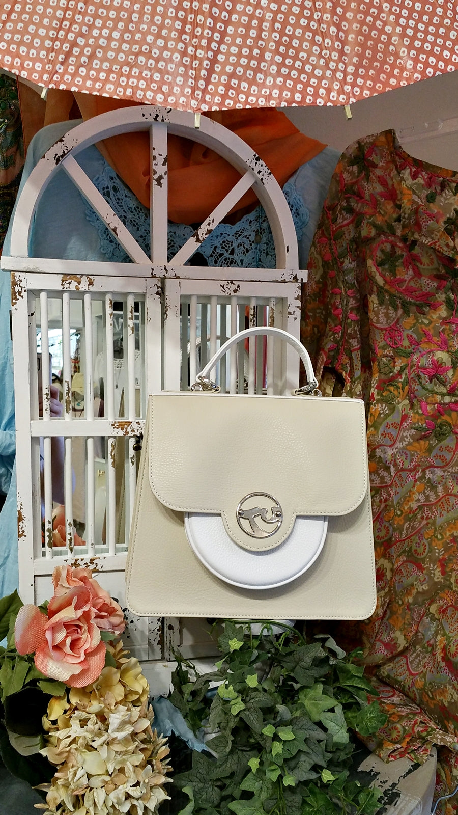 TUCHIC SMALL BAG BEIGE LEATHER