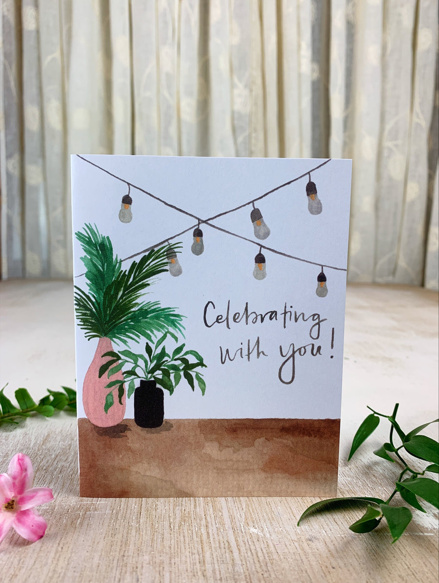 Celebrating With You Card