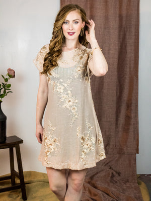 Nikita Sequin Topper Dress