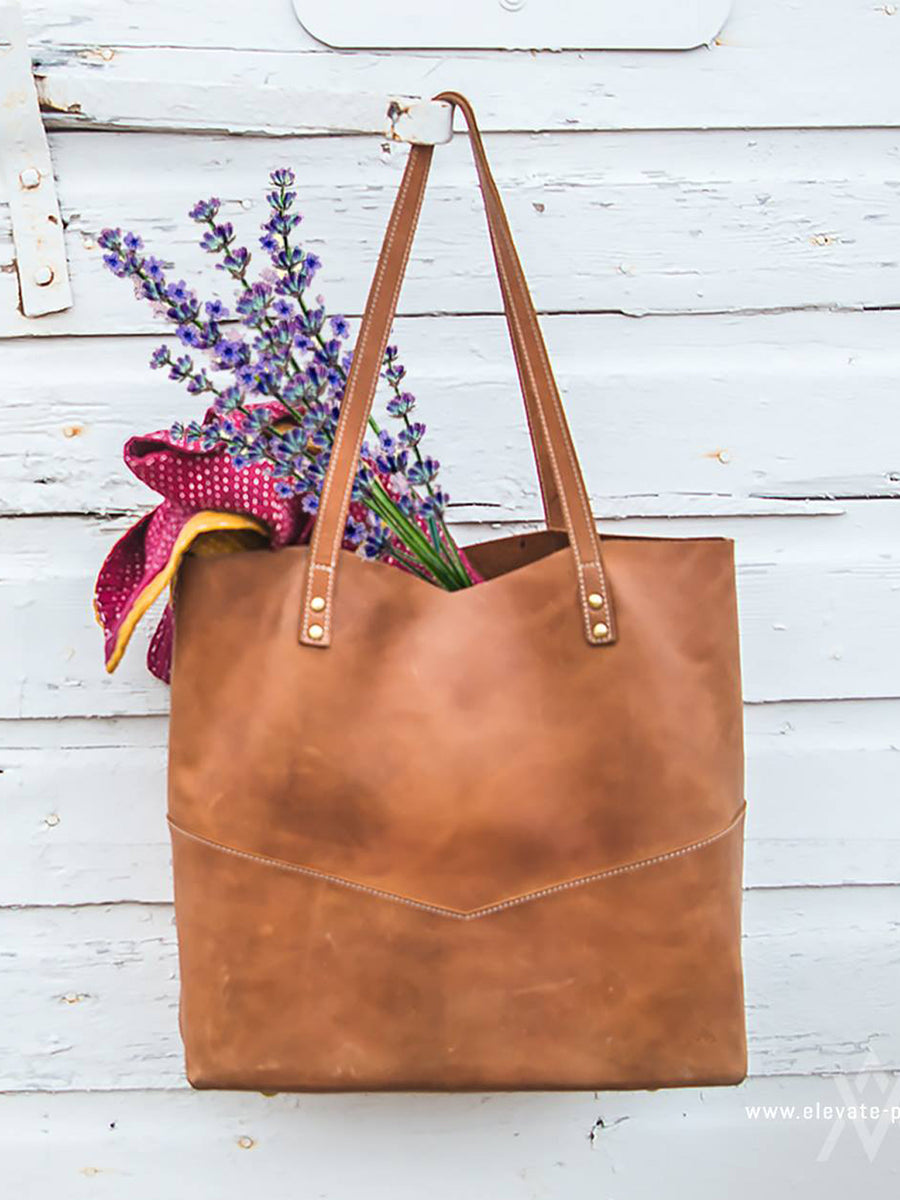 Traveler's Tote Bag