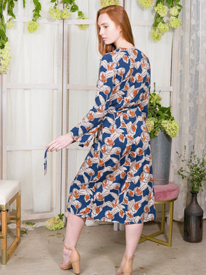 Sorrel Wrap Dress