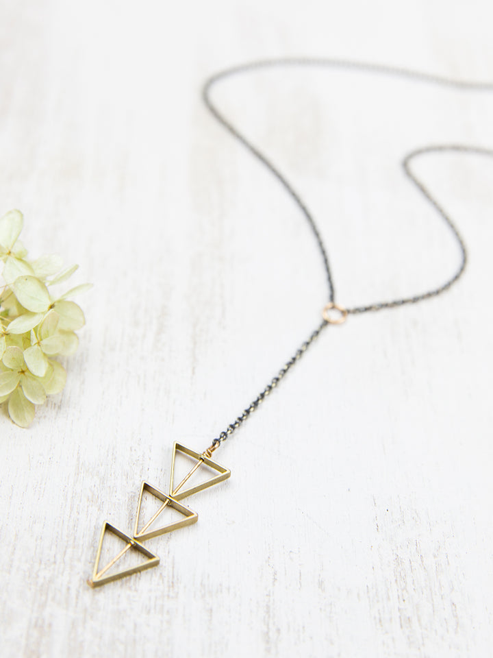 Tri Cut Necklace